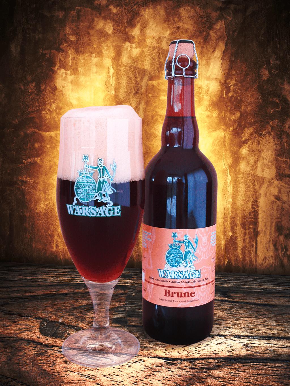 Biere Les Plus Forte brasserie warsage | bières artisanales produites dans le petit